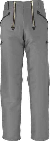 JOB-Zunfthose aus Doppel-Pilot grau gerade Form