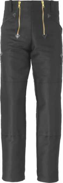 JOB-Zunfthose aus Doppel-Pilot schwarz mit Kniepolstertaschen